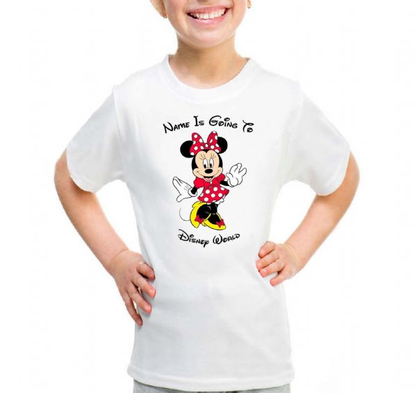 Minnie Red Going To Disney T-shirt